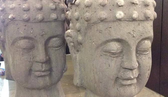 Décoration - Tête de Bouddha